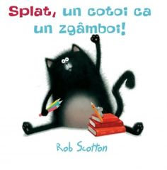 Meet Splat the Cat! An irresistible new character from Rob Scotton, bestselling creator of Russell the SheepIt's Splat the Cat's. School Library Lessons, Elementary Library, Toddler Books, Childrens Books, First Day Of School, Back To School, Splat Le Chat, Pet Mice, Cat Boarding