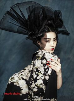 Fan BingBing for Marie Claire China Jan 2015