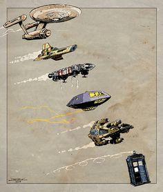 It's the Journey Spaceship Art, Spaceship Concept, Star Trek Starships, Star Trek Enterprise, Steampunk Airship, Sci Fi Ships, Rocket Ships, Sci Fi Spaceships, Sci Fi Models