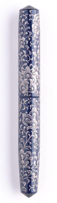 NAKAYA - Chinkin - Chingin (Housoge), Kikyo color/Platinum(line)(Price: 1,300$)