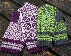 Ravelry: Vinter Votter pattern by Anniken Allis