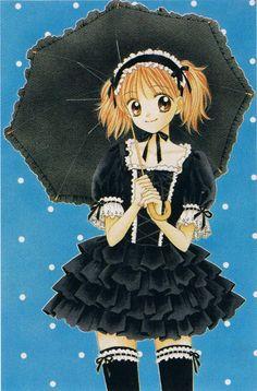 Ultra Maniac by Wataru Yoshizumi.  I love this Gothic Lolita dress!