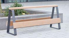 Campus levis railing seat | www.freiraumausstattung.de