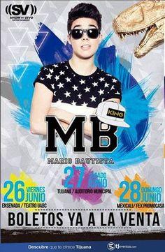 Mario Bautista en el Auditorio de Tijuana el próximo 27 de junio.  Info: http://tjev.mx/1Cri8pn más info en http://tjev.mx/9jUxqh