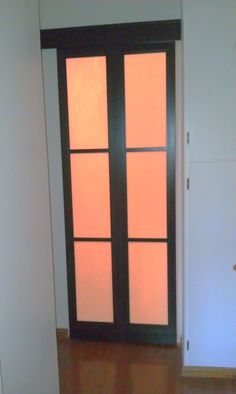 Merveilleux Japanese Shoji Bathroom Sliding Door Instead Of A Pocket Door.