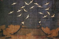 chinese painting by Zhao Ji 赵佶 Song dynasty