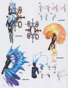 the black and gold electric one looks like something Seika/Tribal/Labbie except instead of bolts, its roots/nerves Character Creation, Character Concept, Character Art, Concept Art, Fantasy Kunst, Fantasy Art, Sketch Manga, Arte Robot, Poses References