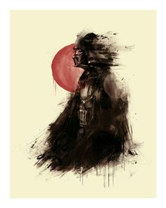 Lord Vader - Star Wars by Marie Bergeron Design Inc., via Behance