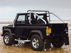 2008 Land Rover Defender SVX selling used for about $50000 USD in UK, AU, and DE