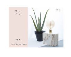 inllux: Lumi marble lamp