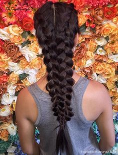 Two Dutch Braids For Long Hair # loose Braids double # long Braids loose Sporty Hairstyles, Winter Hairstyles, Box Braids Hairstyles, Trending Hairstyles, Hairdos, Loose Braids, Braids With Weave, Braids For Long Hair, Two Dutch Braids