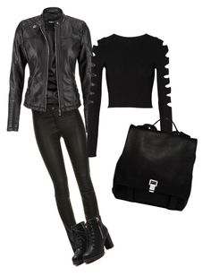 """""""Shadow hunter outfit"""" by jsewellsinclair on Polyvore featuring maurices, Cushnie Et Ochs and Proenza Schouler"""
