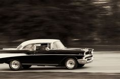 57 chevy.  My parents had a car just like this.