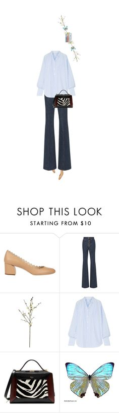 """""""Untitled #1660"""" by maja-z-94 ❤ liked on Polyvore featuring Chloé, Sonia Rykiel, Threshold, Tome and Mulberry"""