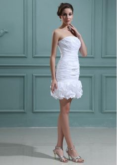 short bridal gowns for reception | ... Short/ Mini length Wedding Dresse / Reception wedding dresses