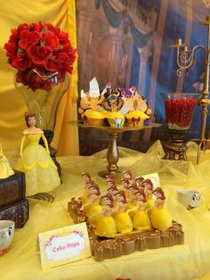 Beauty and the Beast Birthday Party Ideas | Photo 7 of 60 | Catch My Party