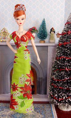 Chatreuse Christmas for Silkstone Barbie
