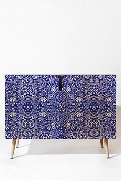 Aimee St Hill Amirah Blue Credenza | DENY Designs Home Accessories