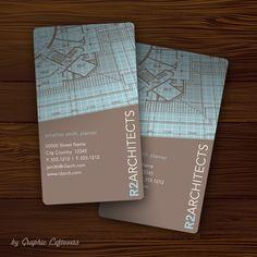 modelos de tarjetas personales para arquitectos