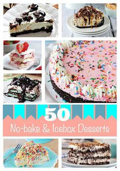 nobake_roundup by Beyond Frosting, via Flickr