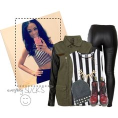 """"""" Promise that you will sing about me . """" by rebel-wolf on Polyvore"""