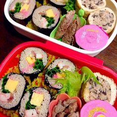 麺つゆは凍らせてね(^_^)v - 76件のもぐもぐ - 蕎麦寿司弁当(^_^)v by fuucandy804