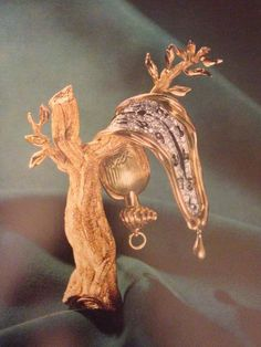 The Persistance of Memory - Dali Art-in-Jewels