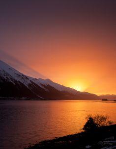 Sunrise - Juneau, Alaska