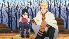 Naruto talks to Sarada about her papa. Boruto And Sarada, Naruto And Sasuke, Anime Naruto, Naruto Shippuden, Sasunaru, Kakashi, Boruto Next Generation, Pokemon, Boruto Naruto Next Generations