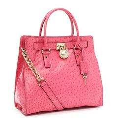Loving this Micheal Kors ostrich embossed pink satchel what outfit wouldn't it look amazing with? Found it at korskorsoutlets.com for only $229.99