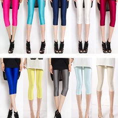 Women Skinny High Waist Leggings Stretchy Sexy Pants Pencil Jeggings New #Unbranded