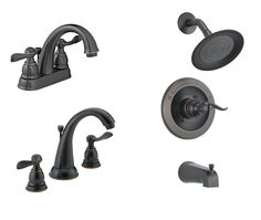 Bathroom Faucet Collection | Delta Windemere Oil Rubbed Bronze