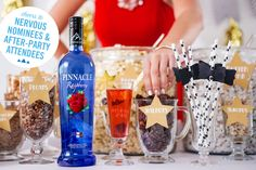 When hosting your #AwardShow parties, serve up snacks that are best served with Hollywood queens & red carpet bling. #PinnacleVodka #AwardSeason #RedCarpetWorthy #Vodka