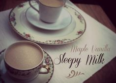 Maple Vanilla Sleepy Milk—the best addition to a bedtime snack! Natural insomnia remedy and so yummy.
