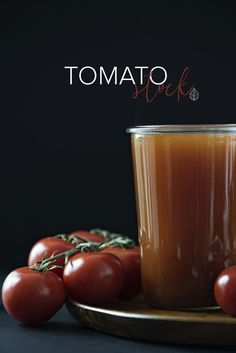 Tomato Stock. Great on it's own with some added seasoning or the perfect base for tomato soup, minestrone soup, chili, risotto, or Spanish rice.