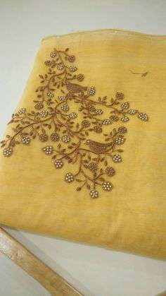 For Order, Call or Whatsapp on or visit insta page WOMN CLOTHING. we are designer studio specialized in custom designer dresses. No CASH ON DELIVERY, worldwide delivery.Colors & Crafts Boutique™ offers unique apparel and jewelry to women who value Zardozi Embroidery, Embroidery On Kurtis, Hand Embroidery Dress, Kurti Embroidery Design, Embroidery Works, Embroidery Motifs, Embroidery Suits, Indian Embroidery, Hand Embroidery Designs