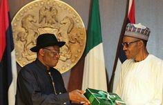 Jonathan To Buhari: Your Government Is More Corrupt Than Mine http://ift.tt/2fFOdbK