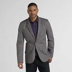 Beige with blue overcheck classic fit sport coat | Men&39s sport