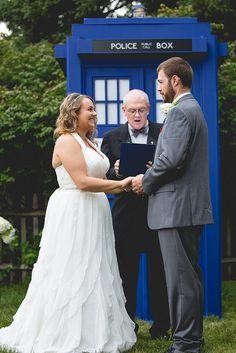The ultimate Doctor Who wedding