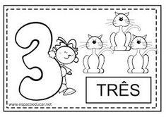 ESPAÇO EDUCAR: Numerais para colorir! Lindos cartazes com numerais!