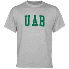 $18.95 UAB Blazers Men's Basic Arch T-Shirt - Ash