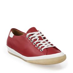 Othello Babe in Red Leather - Womens Shoes from Clarks