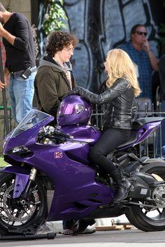 Love this purple Ducati!