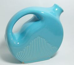 Art Deco . Turquoise Pitcher. Cottage Chic by VintageVarietyValues, $20.00