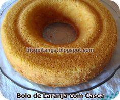 Dianne Nogueira: Receita de Bolo de Laranja com Casca #food