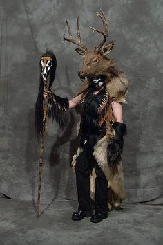 A shaman/witch doctor