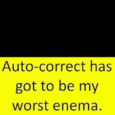 LOL !  And so true, thank you Dina for fixing my phone :)