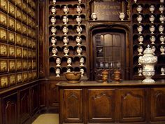 Pharmacie - pharmacy in an ancient palace in the historical center of Nice