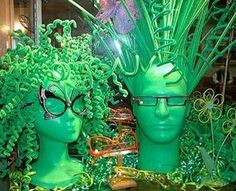mannequin head fruit display - Google Search