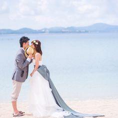 Photography: Porco Photograph #前撮り #沖縄 #prewedding